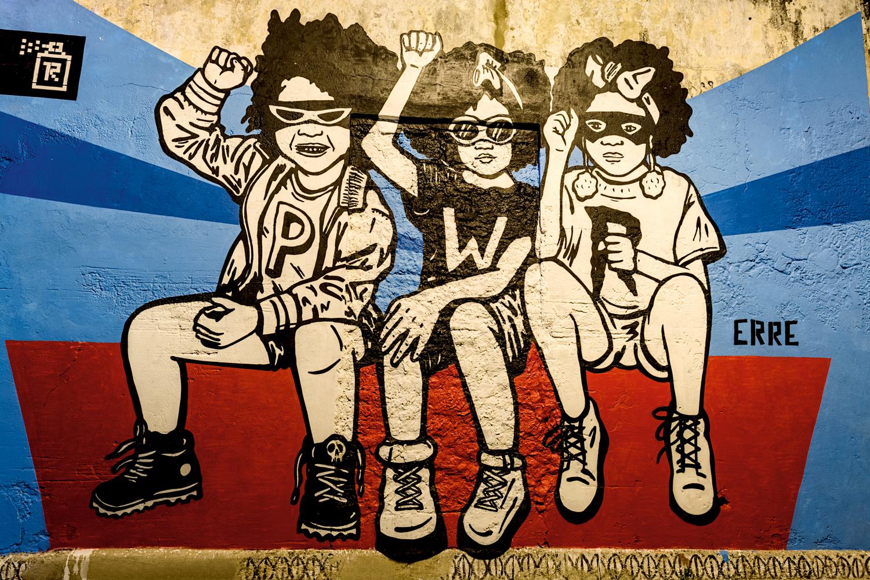 <CENTER>Arte callejero</CENTER>