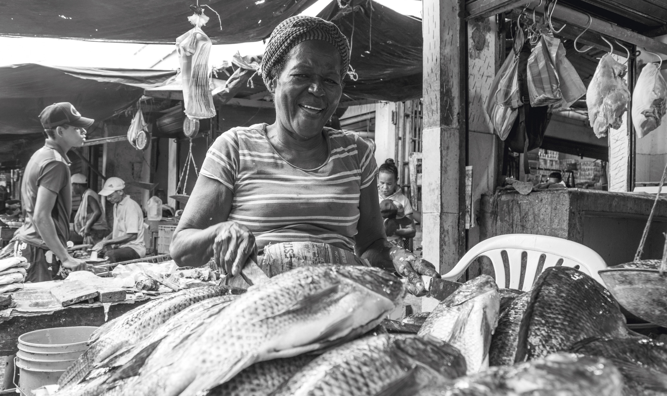 CARMEN Vendedora de pescado / Fishmonger