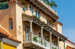TOP 6 FACHADAS HOTELES EN CARTAGENA