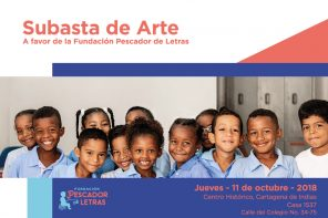 Subasta de Arte a favor de la Fundación Pescador de Letras