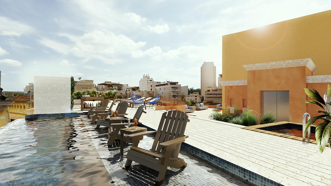 <CENTER>Hotel Santa Catalina</CENTER>