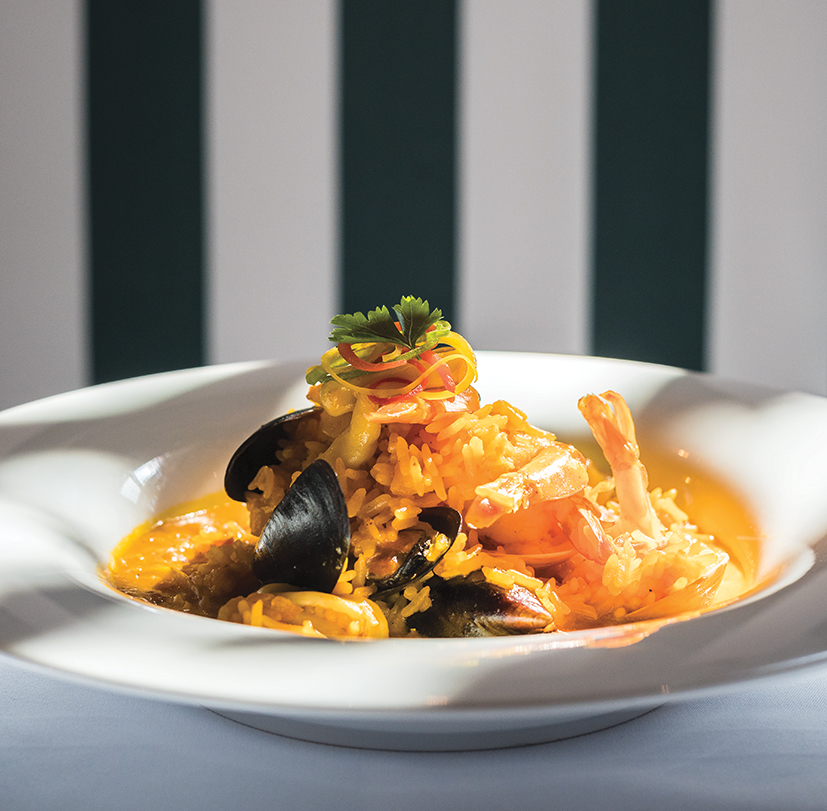 Tour Gastronómico - Arroz caldoso frutos del mar   $52.000