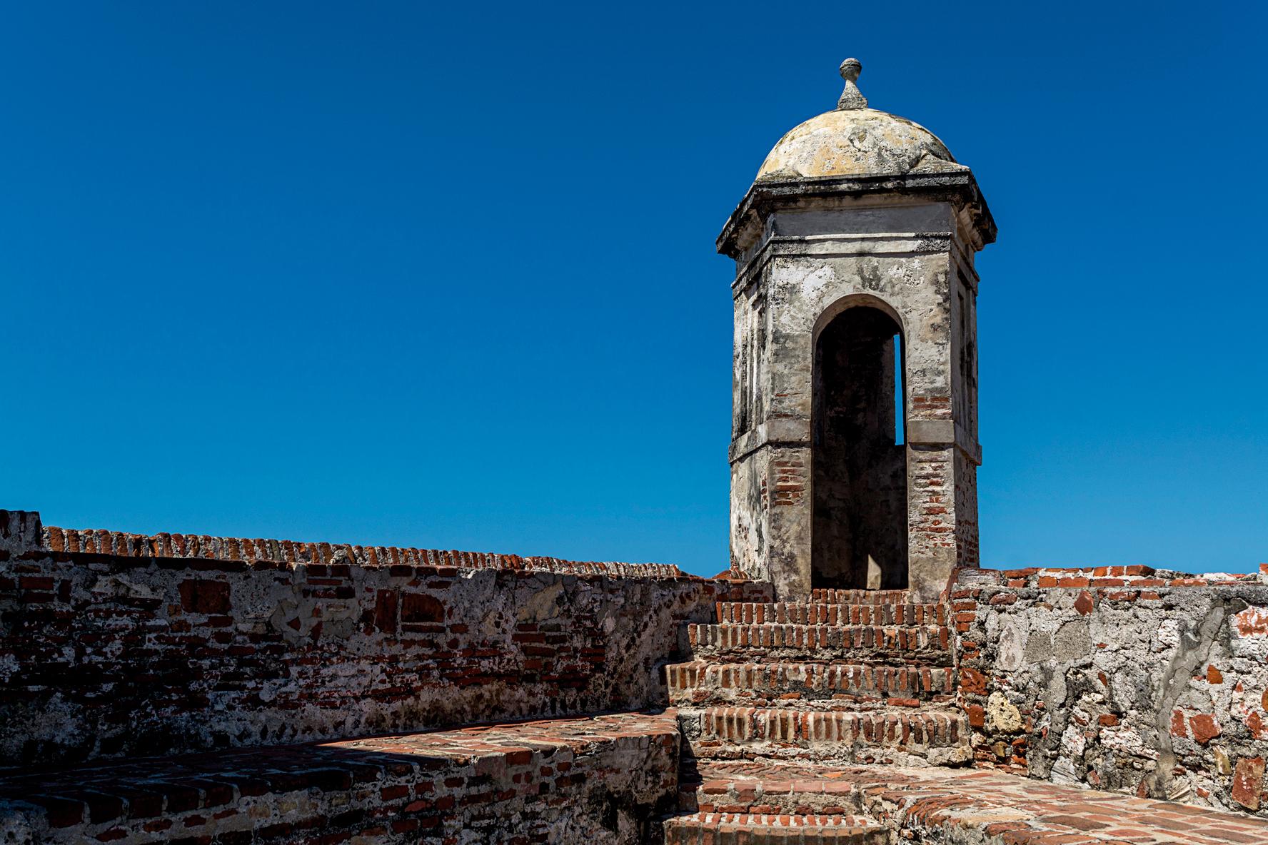 <CENTER>Castillo san felipe de barajas</CENTER>